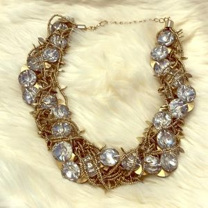 Glam statement necklace